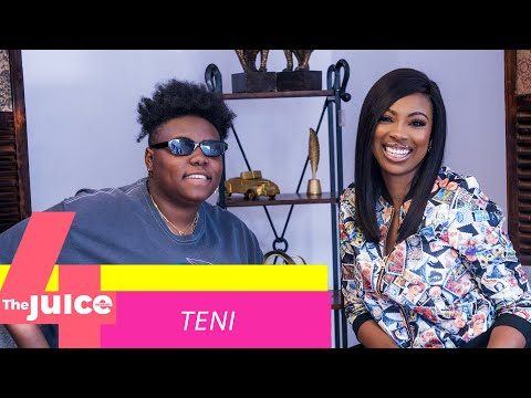 "Teni Discusses Rise to Stardom & Being Herself on Ndani TV's ""The Juice"" 