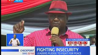Fighting Insecurity : Calls for peaceful co-existence in Pokot