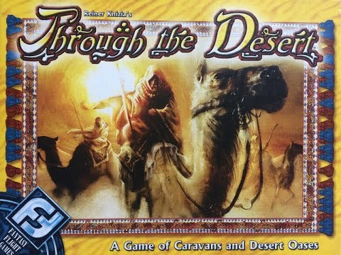 The Purge: # 1958 Through the Desert: A gateway game of pastel camels and tough decisions