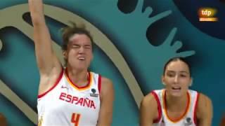 España vs Puerto Rico - Mundial Femenino 2018 (23 - 9 - 2018)