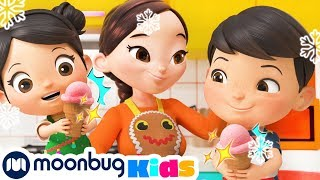 Festive Family Fun! | Holiday Videos | Kids Videos ABC 123s | Moonbug Kids After School
