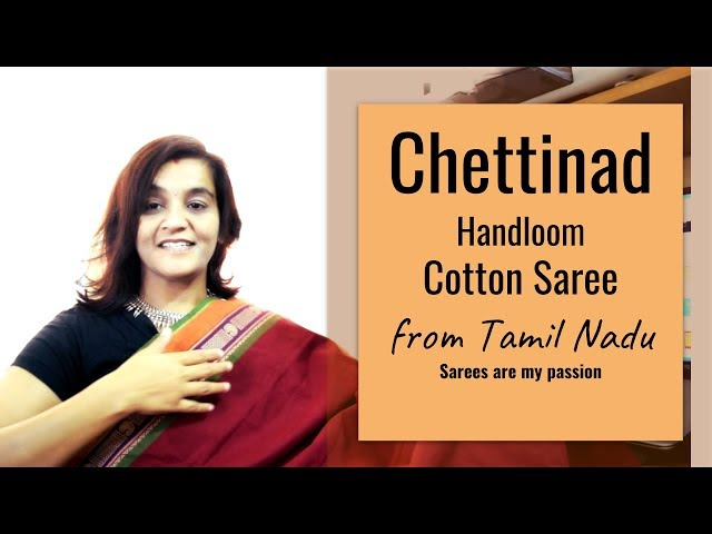 36 Chettinadu Handloom Cotton Saree from Tamil Nadu - Sarees are my passion