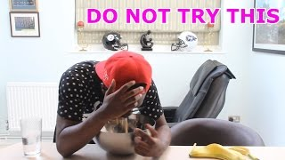 BANANA AND SPRITE CHALLENGE - DO NOT TRY THIS!!