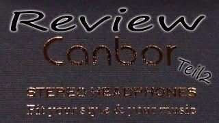 Canbor Wireless Bluetooth Headset   Review   Teil 2/2   HD+   Deutsch