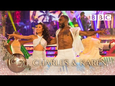 Charles Venn and Karen Clifton Samba to 'La Bamba' to Connie Francis – BBC Strictly 2018