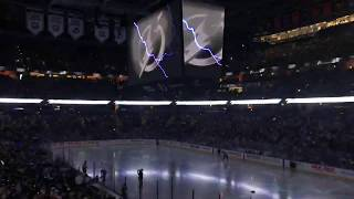 Tampa Bay Lightning Black 3rd Jerseys Introduction and Reveal at Amalie Arena