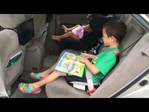 Bubble Bum Car Seat Video Review