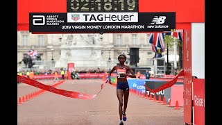 #BREAKING: BRIGID KOSGEI breaks the women world marathon record