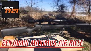 Benjamin Maximus Air Rifle 25 Yard Accuracy Test