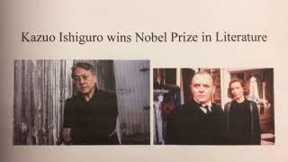 やさしい英語ニュース★Vol.144カズオ・イシグロさん、ノーベル文学賞を受賞