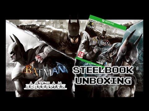 Batman Arkham Collection Steelbook Unboxing