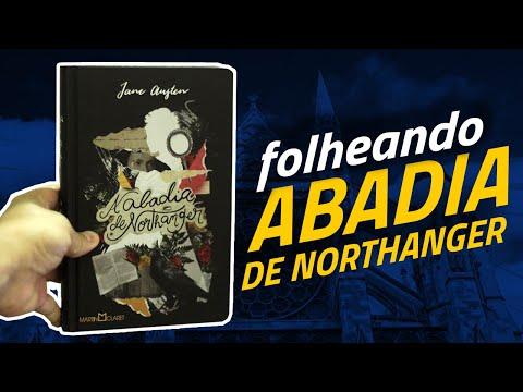 Folheando ABADIA DE NORTHANGER, de Jane Austen