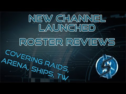 LAUNCHING A SECONDARY CHANNEL DEDICATED TO ROSTER REVIEWS – HERE'S THE FIRST ONE