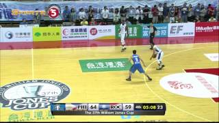 Philippines vs. Chinese Taipei A - Q4 | JONES CUP 2015
