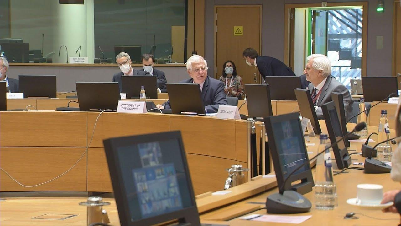Τηλεδιάσκεψη των υπουργών Εξωτερικών της ΕΕ