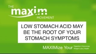 Low Stomach Acid May Be The Root Of Your Stomach S...