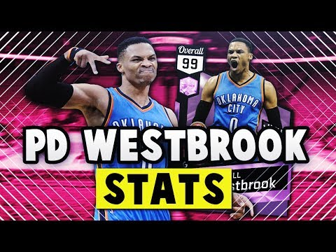 NBA 2K17 MYTEAM PINK DIAMOND 99 OVERALL MVP RUSSELL WESTBROOK STATS!! | BEST CARD IN THE GAME??