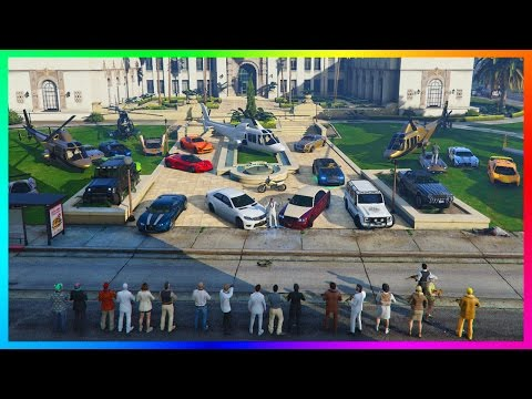 GTA ONLINE BILLIONAIRE'S CLUB ONLY FREEMODE - MOST EXPENSIVE GTA 5 VEHICLES, MANSION PARTY & MORE!