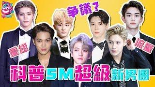 【科普】SM七人新男團SuperM=老團重組!他們究竟是怎樣一群流量怪物?這樣的組合你們期待嗎?【娛樂情報站】