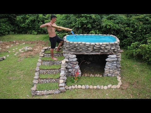 Building Swimming Pool On The Stone House