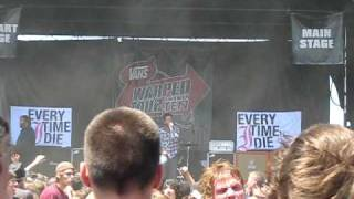 Every Time I Die - The Marvelous Slut (Warped Tour 2010)