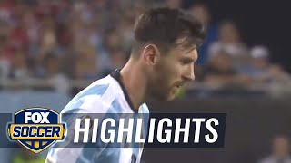 Messi's curling free kick finds the top corner to make it 3-0 | 2016 Copa America Highlights by FOX Soccer