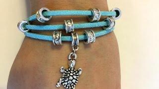 DIY Layered Charm Bracelet