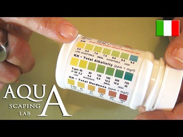 Aquascaping Lab - Valori PH KH GH ottimali durezza dell' acqua in acquario parte 1