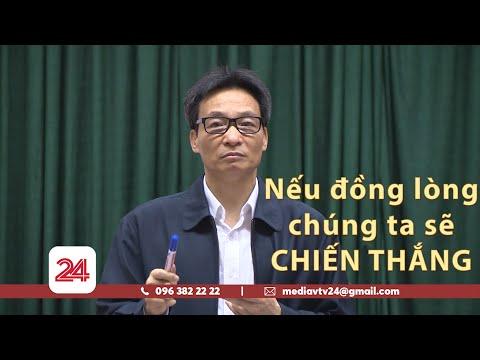 Phat bieu cua pho thu tuong Vu Duc Dam ve phong chong covid-19 giai doan 2.