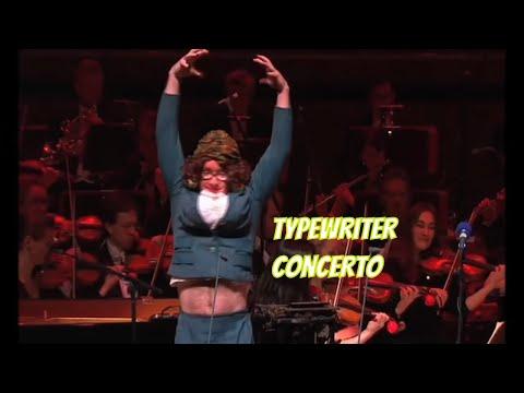 Cuando Una Orquesta Se Une Con Una Máquina De Escribir