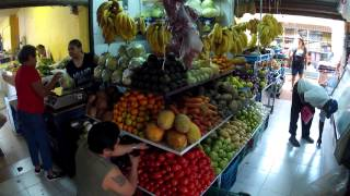 preview picture of video 'Izamal market'