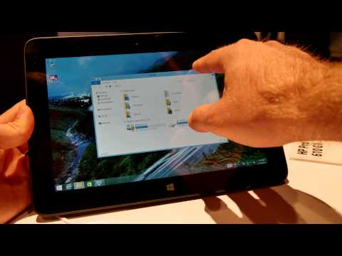HP Pro Tablet 610 G1 Hands On [4K]