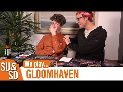 Gloomhaven - Shut Up & Sit Down Playthrough!