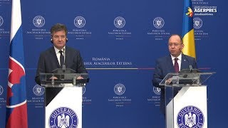 Ministrul Lajcak: Slovacia continuă să fie un susţinător puternic al aderării României la Spaţiul Schengen