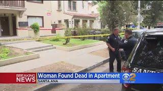 Woman Found Dead In Santa Ana Apartment
