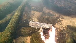 Found Possible Murder Weapon Underwater in River! (Police Called) | DALLMYD - Video Youtube