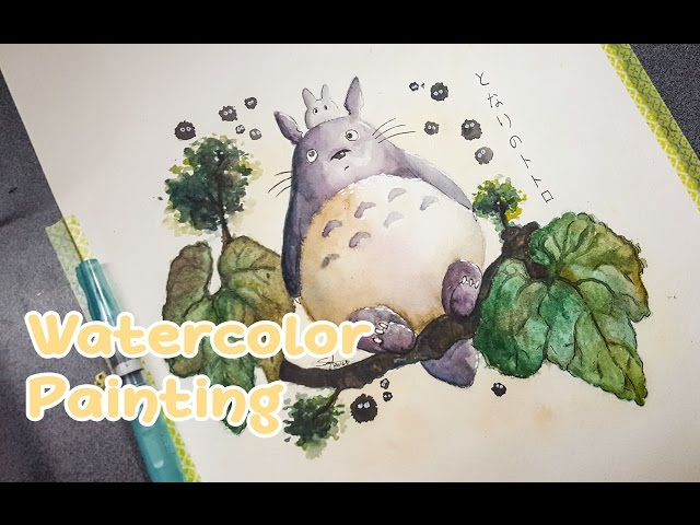 Totoro-speed-painting
