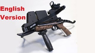 """The """"Viper"""" Repeating Pistol Crossbow - Firepower under 300 €!"""