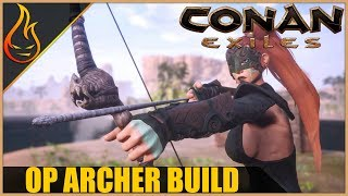 The Archer Build Conan Exiles 2018 Pro Tips Revamp - Video Youtube
