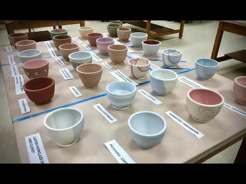 Glazing Possibilities-  28 Different Approaches to Glazing Pottery!