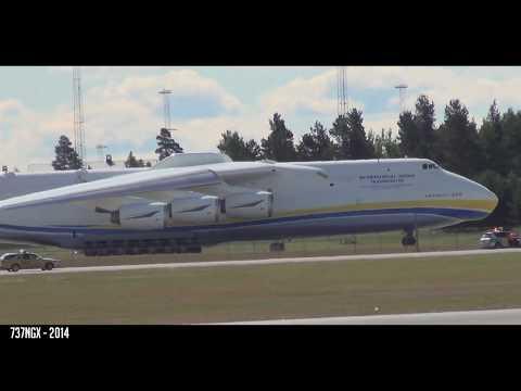 SHORTEST AN-225 TAKEOFF EVER?! - Antonov An-225 Crazy Takeoff from Oslo Gardermoen