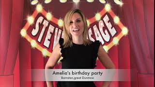 Ameila's birthday party