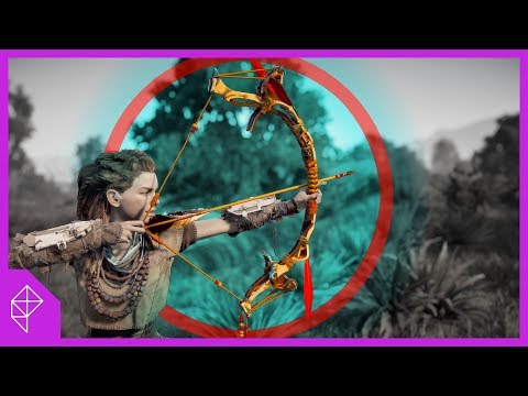 Why the Bow in Horizon Zero Dawn Feels SO Good | Game Mechanics Explained