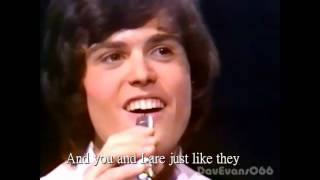 Donny&Marie Osmond ~ Morning side of the mountain