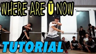 WHERE ARE U NOW - Justin Bieber Dance TUTORIAL | @MattSteffanina Choreography