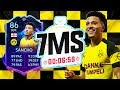 ROAD TO THE FINAL JADON SANCHO!! 7 MINUTE SQUAD BUILDER!! - FIFA 20 ULTIMATE TEAM