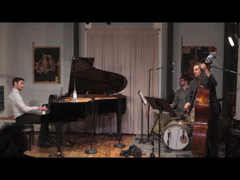 """Me and my jazz trio performing my song """"Pierogi."""""""