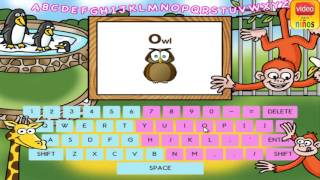Keyboarding for kids - Game Play