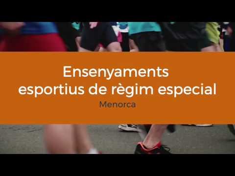 Ensenyaments esportius de règim especial a Menorca