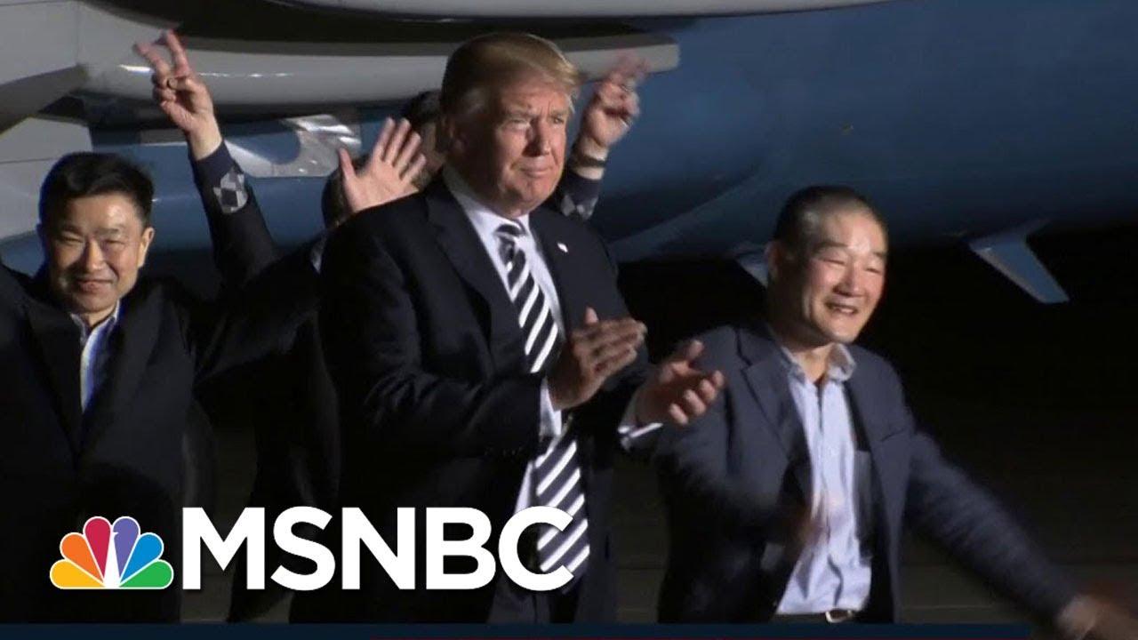 President Donald Trump's Plan To Out-'Crazy' North Korea   MSNBC thumbnail